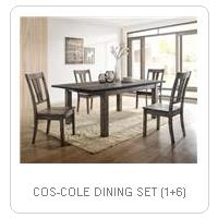 COS-COLE DINING SET (1+6)
